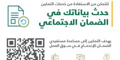 رابط تحديث بيانات مستفيدي الضمان الاجتماعي 1441 لكافة المستفيدين