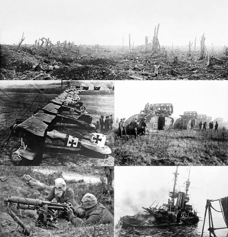 متى وقعت الحرب العالمية الأولى